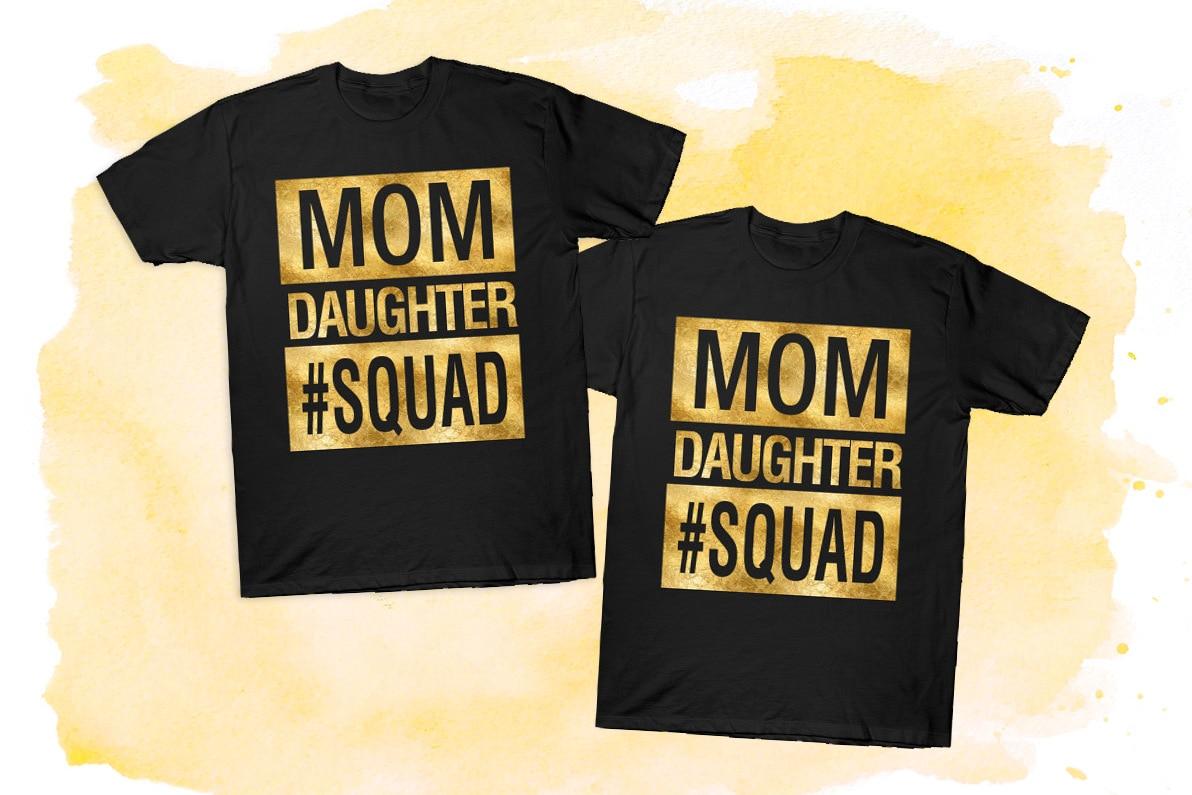 Mom daughter squad