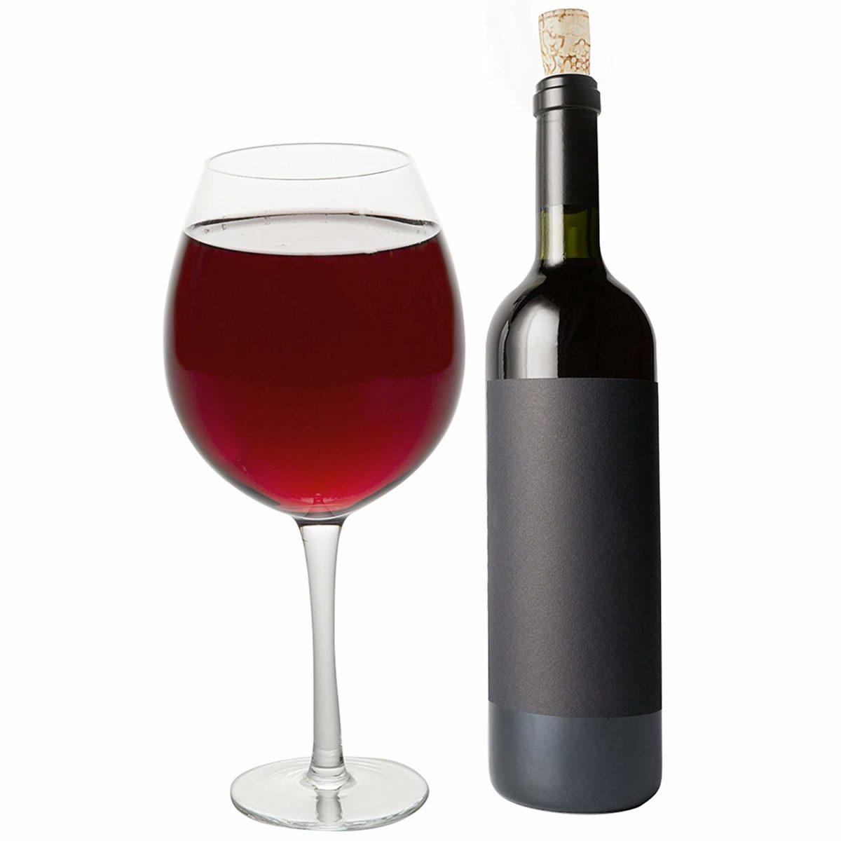 Oversized Wine Glass