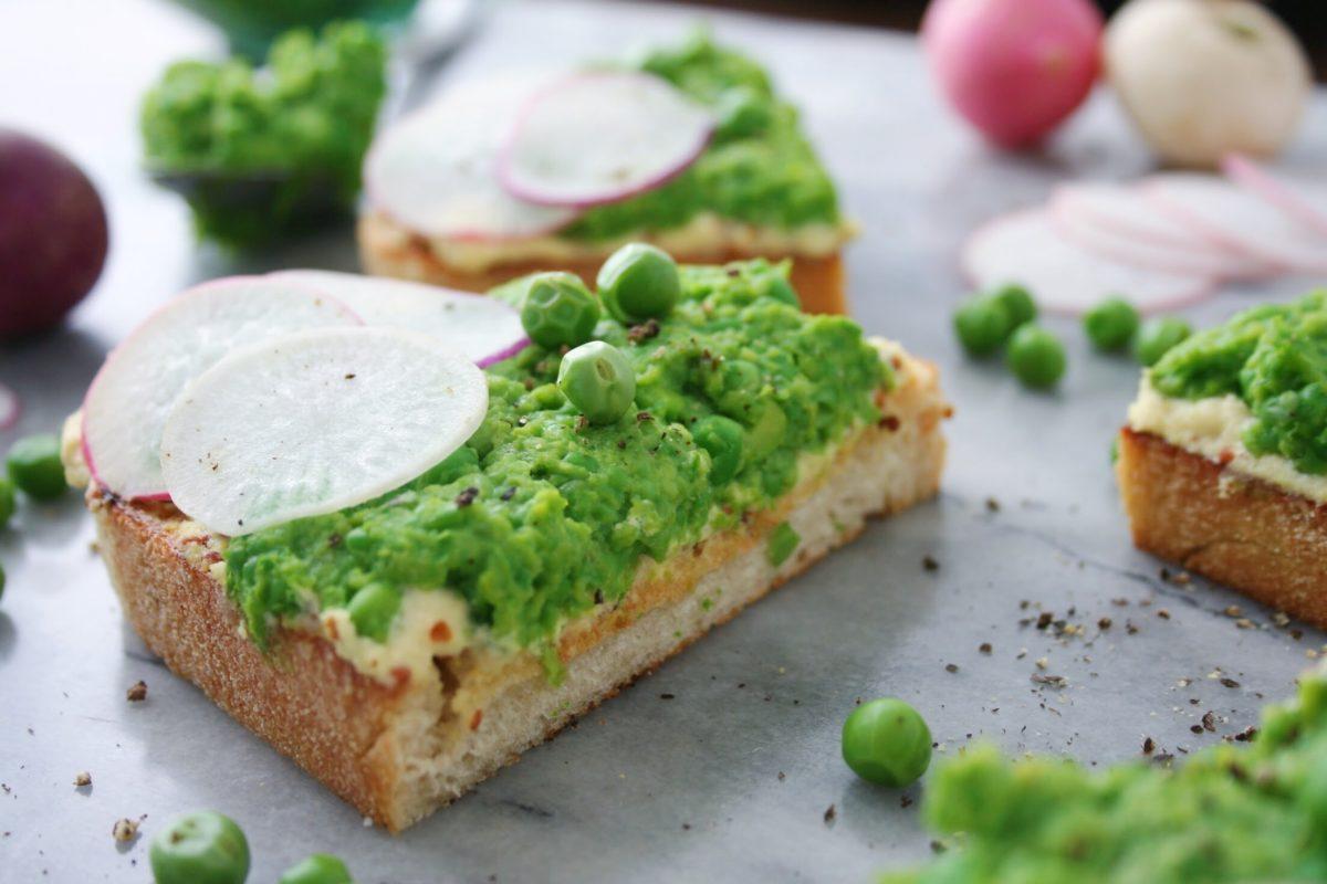 Smashed Pea Toast 30