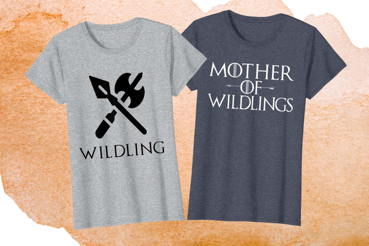 Wildings mother-daughter shirts