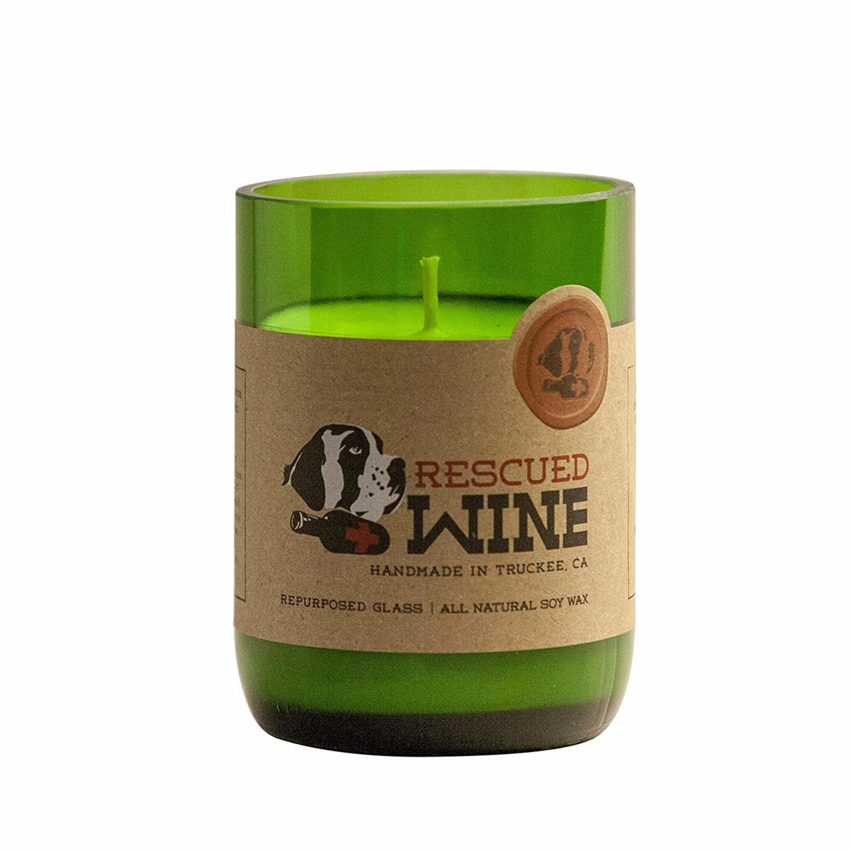 Wine Bottle Soy Wax Candle