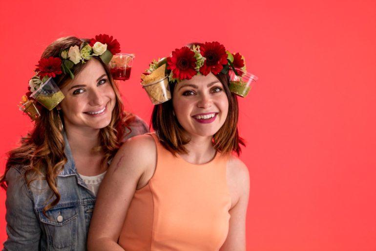 cinco de mayo flower crowns jess and lauren