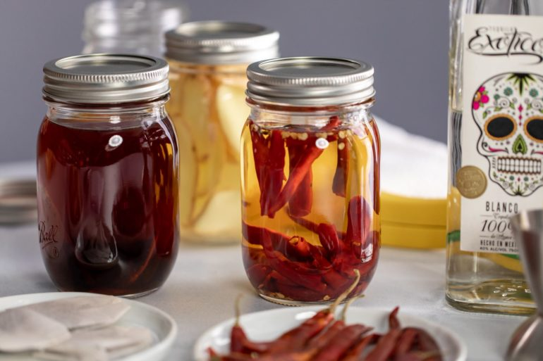 how to infuse tequila at home