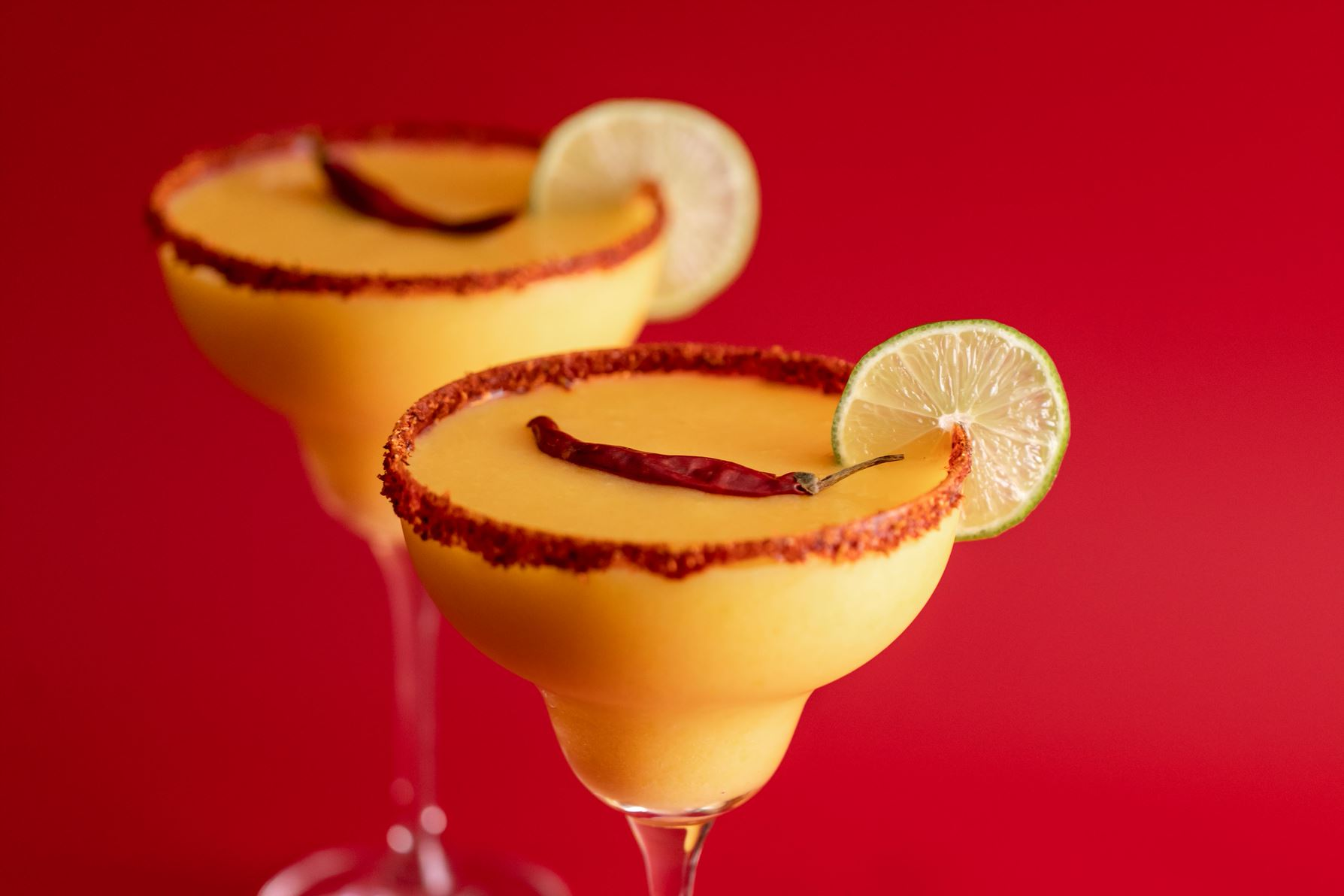 tequila spicy mango cocktail