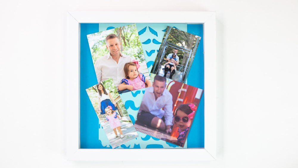 Father's Day Shadow Box photos