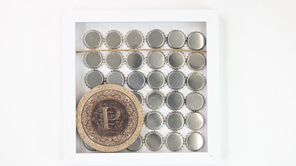 Father's Day Shadow Boxes coaster