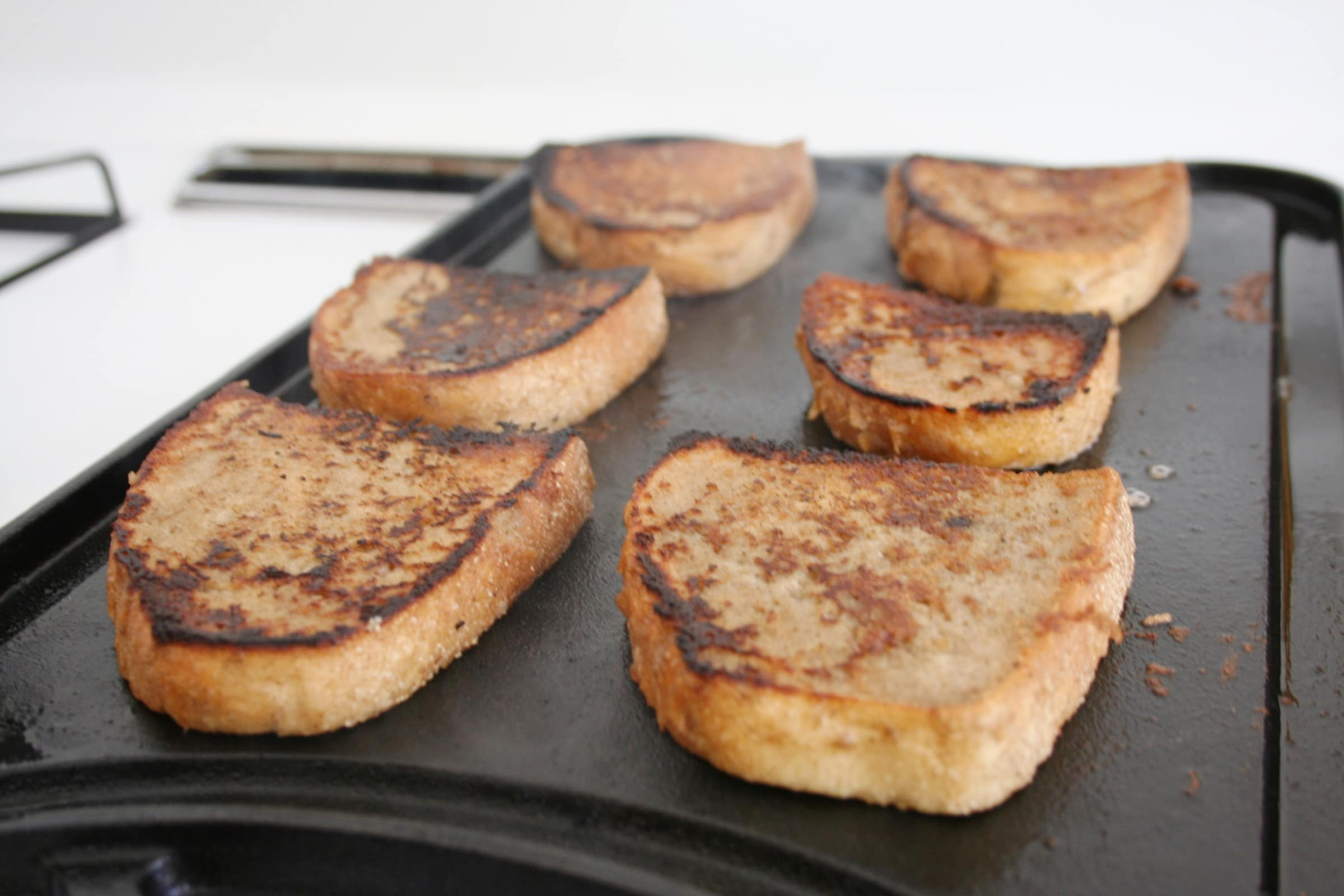Bread for vegan french toast