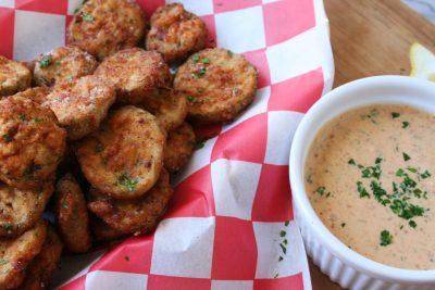 Vegan Fried Pickles 23