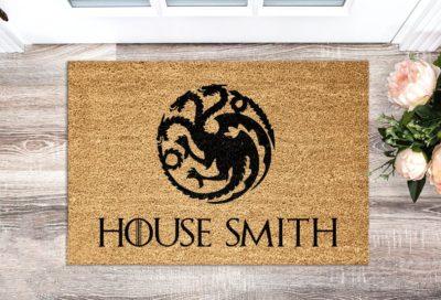game of thrones doormat gift