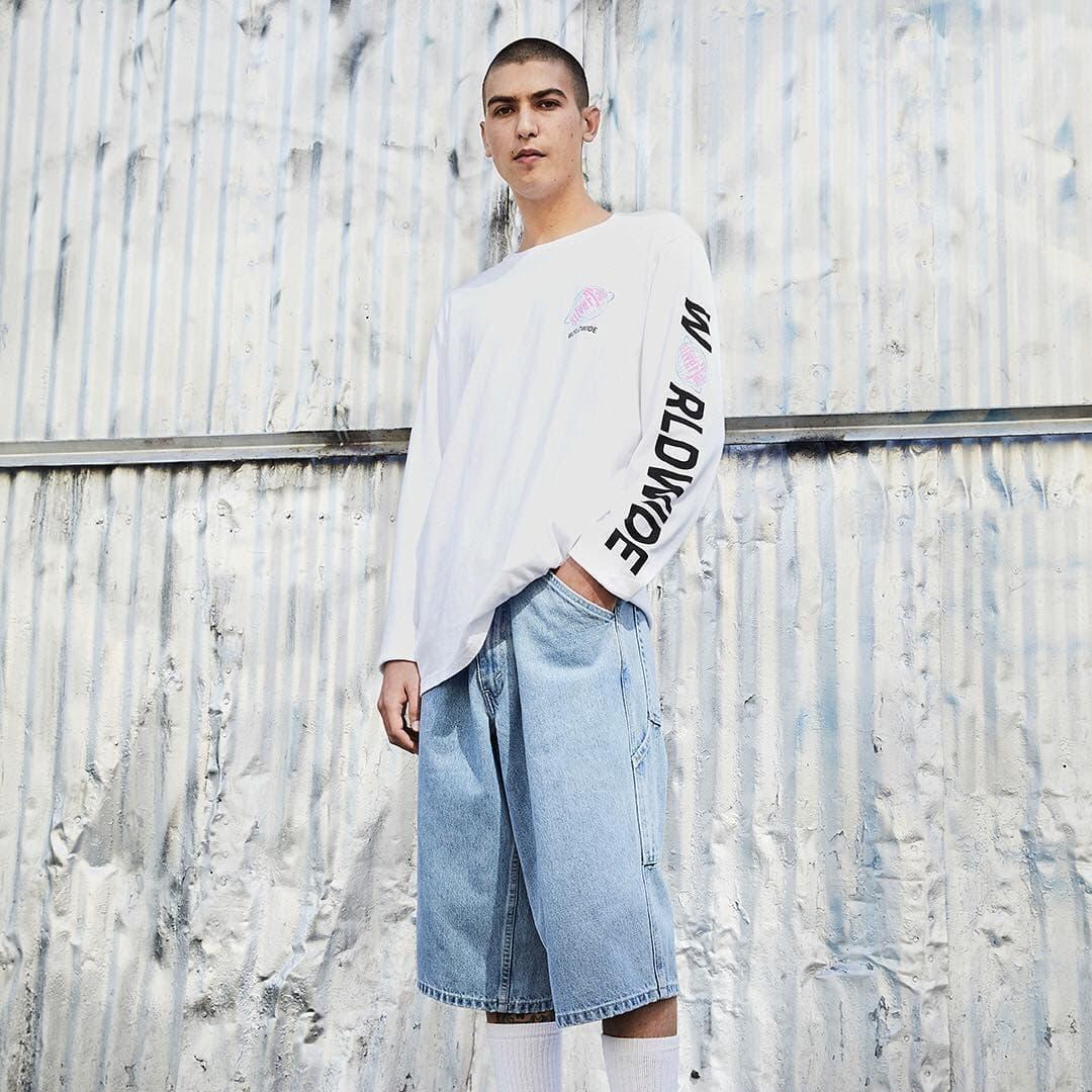 Jorts mens fashion