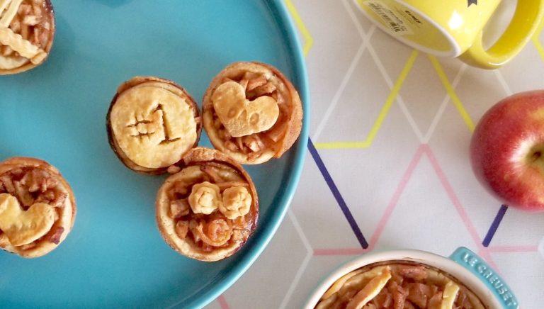 bite-sized apple pie beauty