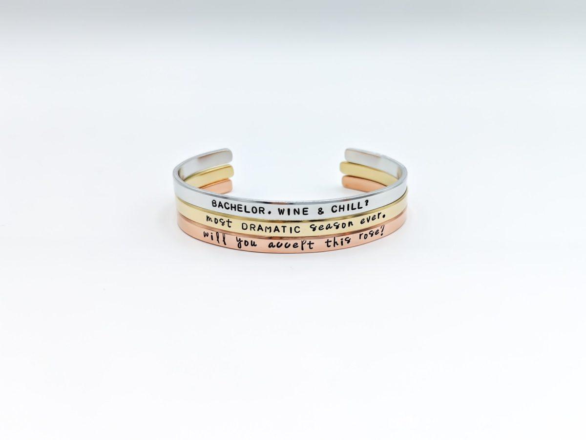 Customizable-bachelor-bracelets