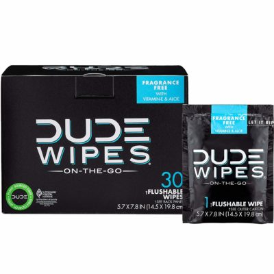 new dad gift dude wipes