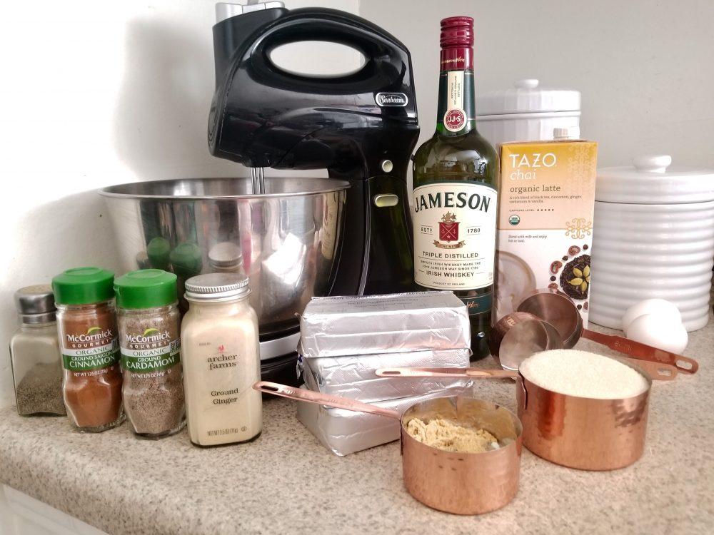whiskey chai cheesecake ingredients