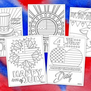 5 free Fourth of July coloring pages