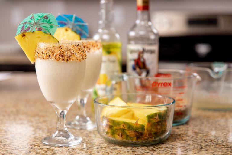 keto-pina-colada-with-pineapple