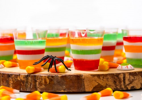 Halloween vodka Jell-O Shots