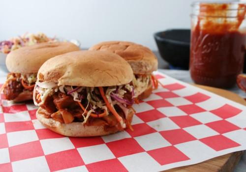 Make jackfruit 'pulled-pork' sliders for your vegan barbecue