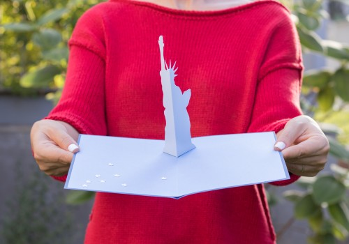 DIY pop-up card with a free 4th of July printable