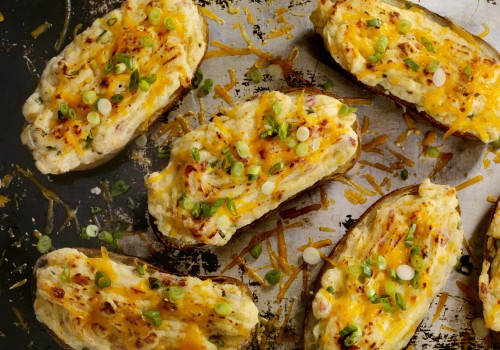 CBD twice-baked potatoes is the ultimate holiday recipe