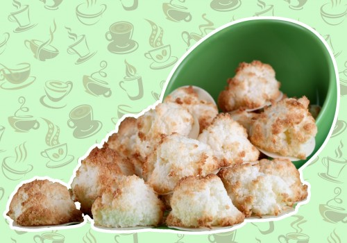 Coffee coconut macaroons are perfect for the coffee snob in your life