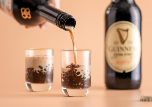 We created Guinness Beer boba, and you can easily make it at home