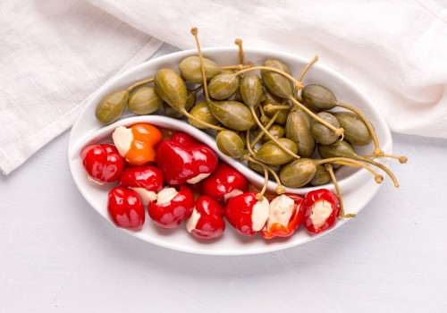 Looking for a cheesy grilled appetizer? Try Peppadew cherry bombs